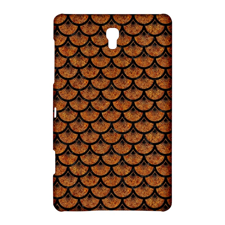 SCALES3 BLACK MARBLE & RUSTED METAL Samsung Galaxy Tab S (8.4 ) Hardshell Case