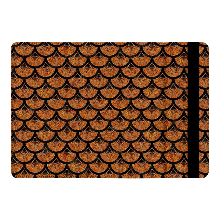 SCALES3 BLACK MARBLE & RUSTED METAL Apple iPad Pro 10.5   Flip Case