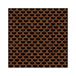 SCALES3 BLACK MARBLE & RUSTED METAL (R) Acrylic Tangram Puzzle (6  x 6 ) Front
