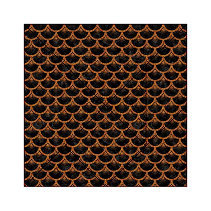 SCALES3 BLACK MARBLE & RUSTED METAL (R) Acrylic Tangram Puzzle (6  x 6 )