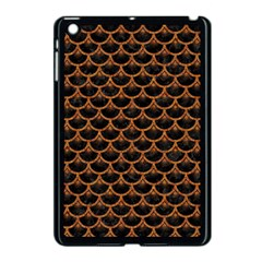 Scales3 Black Marble & Rusted Metal (r) Apple Ipad Mini Case (black) by trendistuff