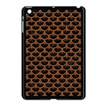 SCALES3 BLACK MARBLE & RUSTED METAL (R) Apple iPad Mini Case (Black) Front