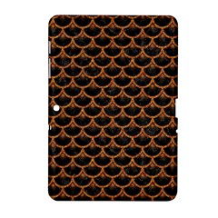 Scales3 Black Marble & Rusted Metal (r) Samsung Galaxy Tab 2 (10 1 ) P5100 Hardshell Case