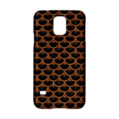 Scales3 Black Marble & Rusted Metal (r) Samsung Galaxy S5 Hardshell Case