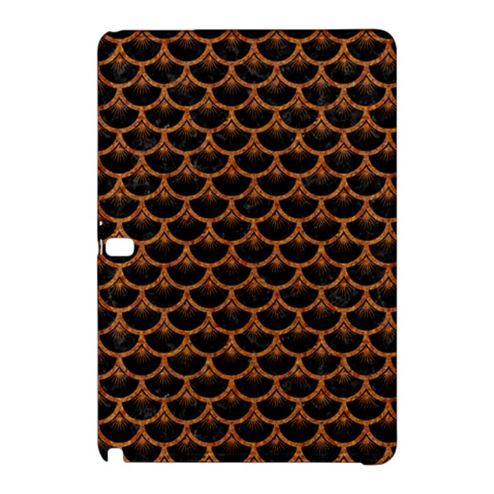 SCALES3 BLACK MARBLE & RUSTED METAL (R) Samsung Galaxy Tab Pro 10.1 Hardshell Case