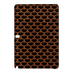 Scales3 Black Marble & Rusted Metal (r) Samsung Galaxy Tab Pro 12 2 Hardshell Case