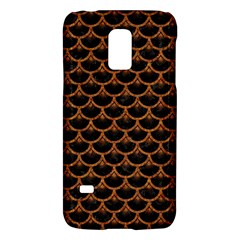 Scales3 Black Marble & Rusted Metal (r) Galaxy S5 Mini
