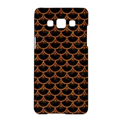 Scales3 Black Marble & Rusted Metal (r) Samsung Galaxy A5 Hardshell Case  by trendistuff
