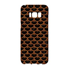 Scales3 Black Marble & Rusted Metal (r) Samsung Galaxy S8 Hardshell Case  by trendistuff