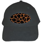 SKIN1 BLACK MARBLE & RUSTED METAL Black Cap Front
