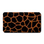 SKIN1 BLACK MARBLE & RUSTED METAL Medium Bar Mats