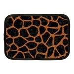 SKIN1 BLACK MARBLE & RUSTED METAL Netbook Case (Medium)