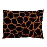 SKIN1 BLACK MARBLE & RUSTED METAL Pillow Case