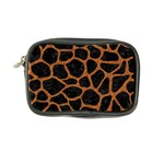 SKIN1 BLACK MARBLE & RUSTED METAL Coin Purse Front