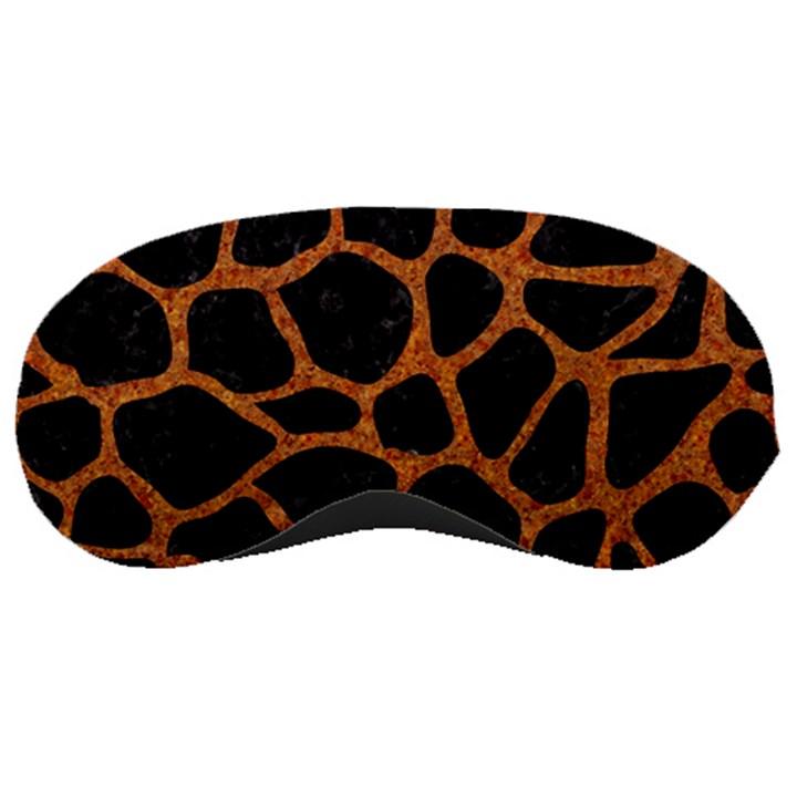 SKIN1 BLACK MARBLE & RUSTED METAL Sleeping Masks
