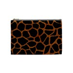 SKIN1 BLACK MARBLE & RUSTED METAL Cosmetic Bag (Medium)