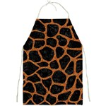 SKIN1 BLACK MARBLE & RUSTED METAL Full Print Aprons