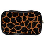 SKIN1 BLACK MARBLE & RUSTED METAL Toiletries Bags 2-Side