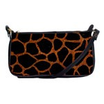 SKIN1 BLACK MARBLE & RUSTED METAL Shoulder Clutch Bags