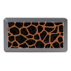 SKIN1 BLACK MARBLE & RUSTED METAL Memory Card Reader (Mini)