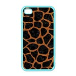 SKIN1 BLACK MARBLE & RUSTED METAL Apple iPhone 4 Case (Color) Front