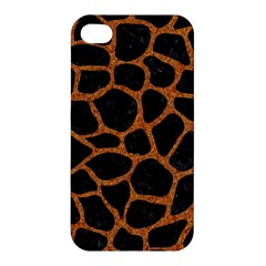 Skin1 Black Marble & Rusted Metal Apple Iphone 4/4s Hardshell Case