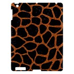 SKIN1 BLACK MARBLE & RUSTED METAL Apple iPad 3/4 Hardshell Case
