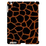 SKIN1 BLACK MARBLE & RUSTED METAL Apple iPad 3/4 Hardshell Case (Compatible with Smart Cover)