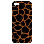 SKIN1 BLACK MARBLE & RUSTED METAL Apple iPhone 5 Hardshell Case