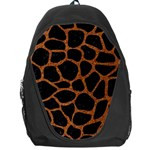 SKIN1 BLACK MARBLE & RUSTED METAL Backpack Bag