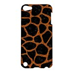 SKIN1 BLACK MARBLE & RUSTED METAL Apple iPod Touch 5 Hardshell Case