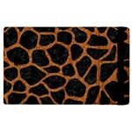 SKIN1 BLACK MARBLE & RUSTED METAL Apple iPad 3/4 Flip Case