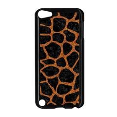 Skin1 Black Marble & Rusted Metal Apple Ipod Touch 5 Case (black) by trendistuff