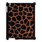 SKIN1 BLACK MARBLE & RUSTED METAL Apple iPad 3/4 Case (Black)