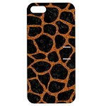 SKIN1 BLACK MARBLE & RUSTED METAL Apple iPhone 5 Hardshell Case with Stand