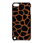 SKIN1 BLACK MARBLE & RUSTED METAL Apple iPod Touch 5 Hardshell Case with Stand