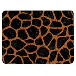 SKIN1 BLACK MARBLE & RUSTED METAL Samsung Galaxy Tab 7  P1000 Flip Case