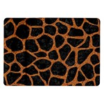 SKIN1 BLACK MARBLE & RUSTED METAL Samsung Galaxy Tab 10.1  P7500 Flip Case