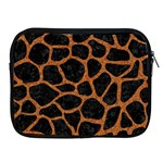 SKIN1 BLACK MARBLE & RUSTED METAL Apple iPad 2/3/4 Zipper Cases