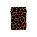 SKIN1 BLACK MARBLE & RUSTED METAL Apple iPad Mini Protective Soft Cases