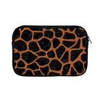 SKIN1 BLACK MARBLE & RUSTED METAL Apple iPad Mini Zipper Cases