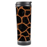 SKIN1 BLACK MARBLE & RUSTED METAL Travel Tumbler