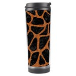 SKIN1 BLACK MARBLE & RUSTED METAL Travel Tumbler Right