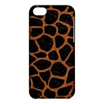SKIN1 BLACK MARBLE & RUSTED METAL Apple iPhone 5C Hardshell Case