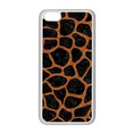 SKIN1 BLACK MARBLE & RUSTED METAL Apple iPhone 5C Seamless Case (White)