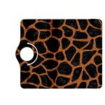 SKIN1 BLACK MARBLE & RUSTED METAL Kindle Fire HDX 8.9  Flip 360 Case