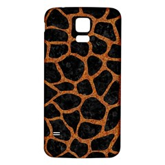 Skin1 Black Marble & Rusted Metal Samsung Galaxy S5 Back Case (white) by trendistuff
