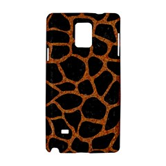 SKIN1 BLACK MARBLE & RUSTED METAL Samsung Galaxy Note 4 Hardshell Case