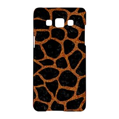 Skin1 Black Marble & Rusted Metal Samsung Galaxy A5 Hardshell Case  by trendistuff