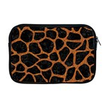 SKIN1 BLACK MARBLE & RUSTED METAL Apple MacBook Pro 17  Zipper Case